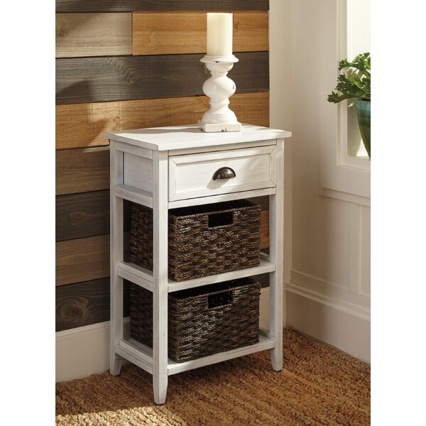 Tracy End Table with Storage by Breakwater Bay