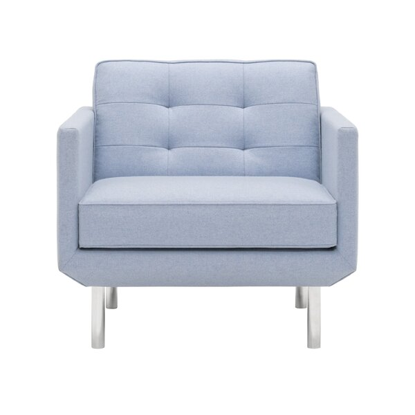 Plateau Fibre Filled Club Chair by EQ3