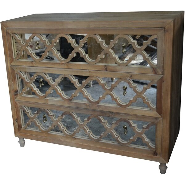 Llewellyn 3 Drawer Chest by 17 Stories