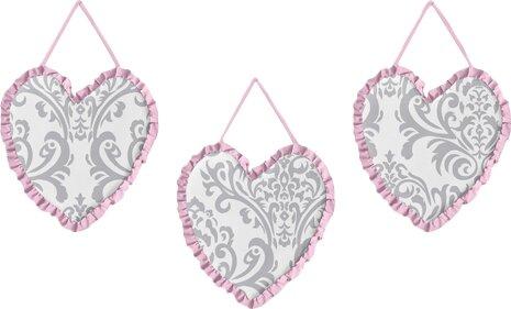 3 Piece Elizabeth Wall Hanging Set by Sweet Jojo Designs