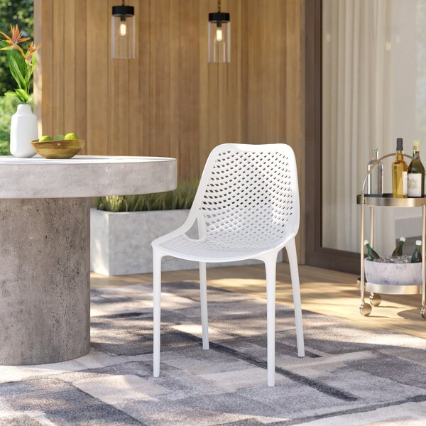 Curnutt Stacking Patio Dining Chair (Set Of 2) By Mercury Row by Mercury Row Coupon