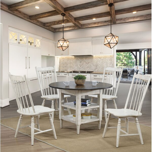 Reach 5 Piece Drop Leaf Dining Set by Gracie Oaks
