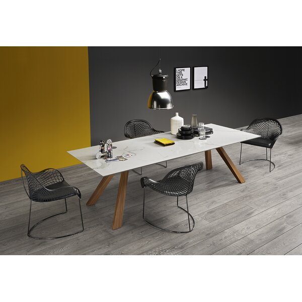 Zeus LG Dining Table with Ceramic Top by Midj