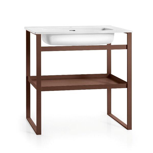 Linea 35 Single Free Standing Bathroom Vanity Set