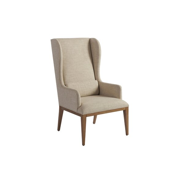 Newport Upholstered Dining Arm Chair by Barclay Butera Barclay Butera