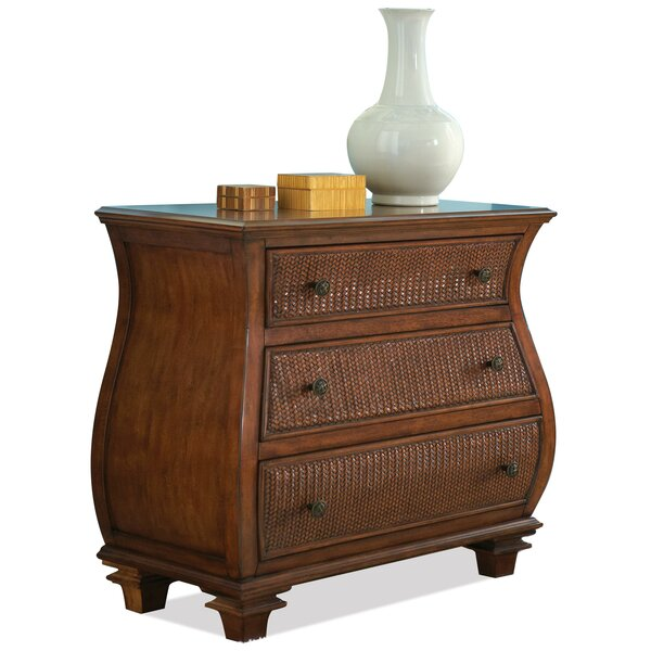 Souleymane Cardiff 3 Drawer Bachelor's Chest By World Menagerie