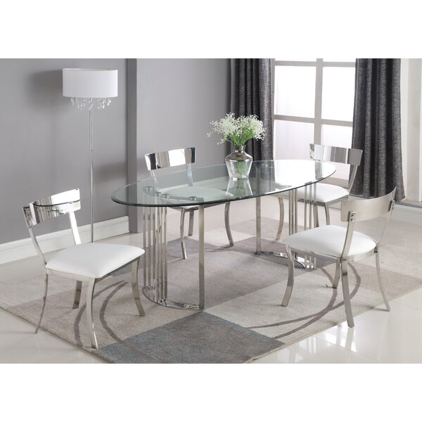Maiden 5 Piece Dining Set by Orren Ellis Orren Ellis