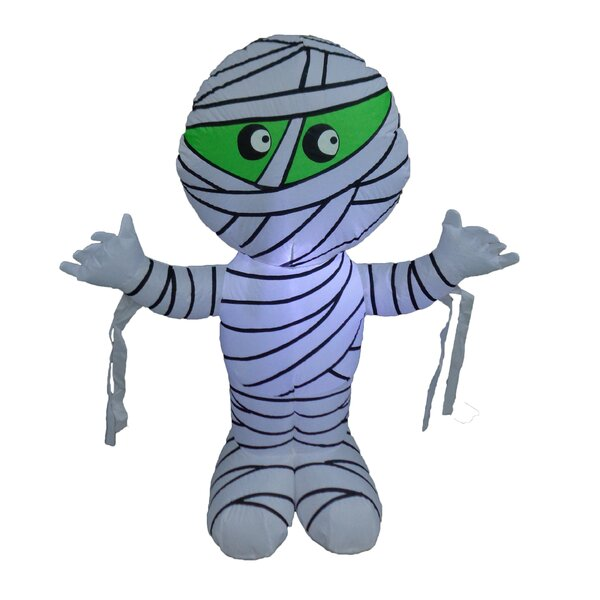 Halloween Inflatable Mummy by The Holiday Aisle