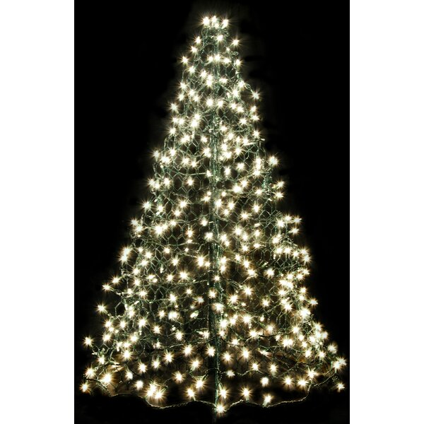 Crab Pot Christmas Tree® with 300 Incandescent Mini Lights by Crab Pot Christmas Trees