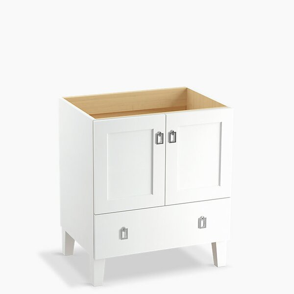 Poplin™ 30 Vanity with Furniture Legs, 2 Doors and 1 Drawer by Kohler