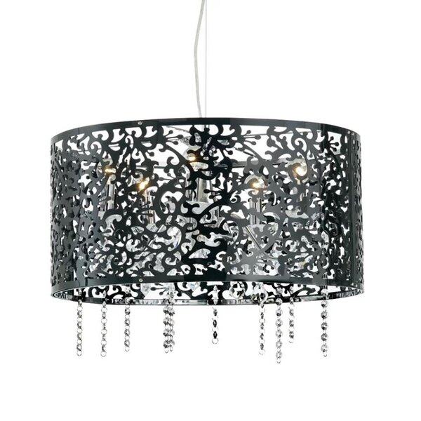 Ramage 5 - Light Candle Style Drum Chandelier by House of Hampton House of Hampton