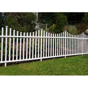 vinyl fence panels. W Manchester Semi-Permanent Fence Panel (Set Of 2) Vinyl Fence Panels