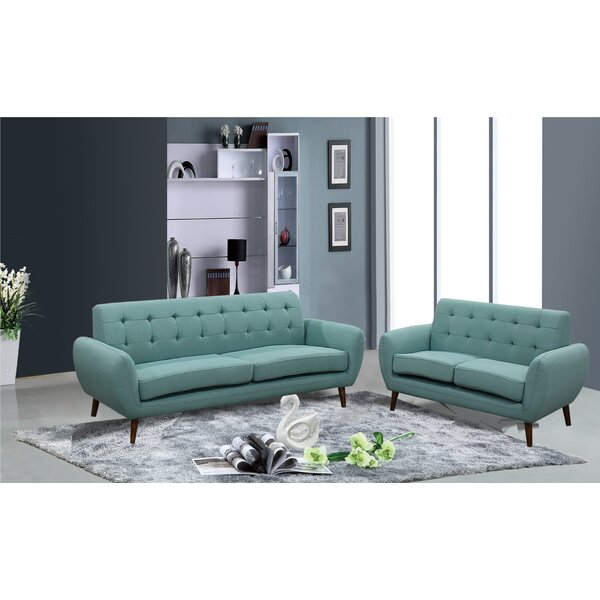Diara 2 Piece Living Room Set By Zipcode Design Comparison
