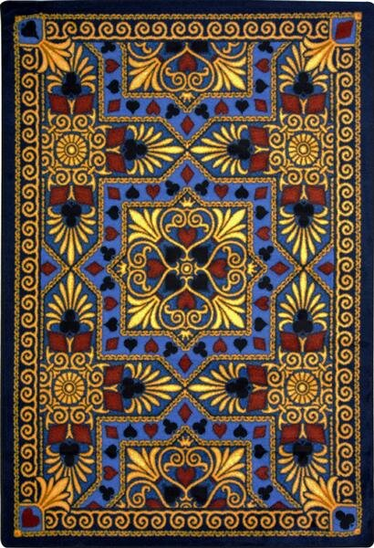 Navy Blue Area Rug by The Conestoga Trading Co.
