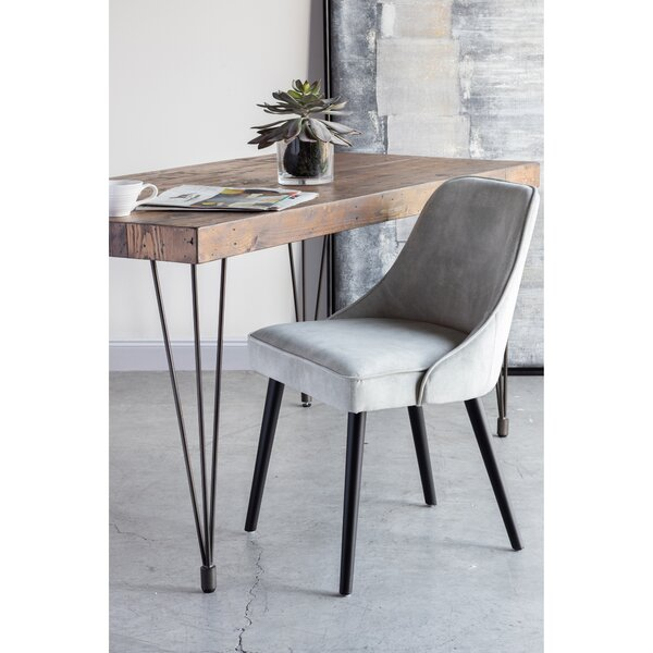 Lagunas Upholstered Solid Wood Side Chair by Ivy Bronx Ivy Bronx