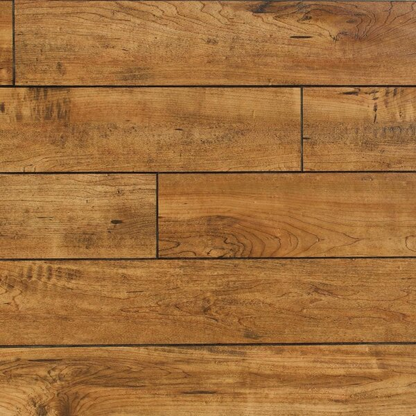 Heartland 5 x 48 x 12mm Maple Laminate Flooring in Rawhide by Bellami