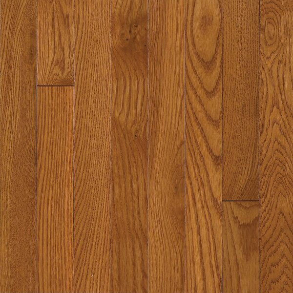Waltham 2-1/4 Solid Oak Hardwood Flooring in Brass by Bruce Flooring
