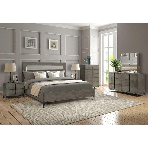 Fullilove Platform 5 Piece Bedroom Set by Union Rustic