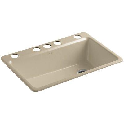Kitchen Sink Under Mount Single Bowl Sand 328 Product Photo