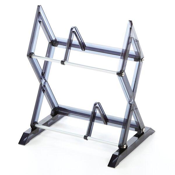 Review 2 Tier Multimedia Storage Rack