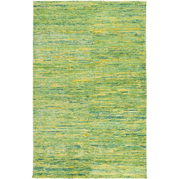 Cadwell Lime Area Rug by Bungalow Rose