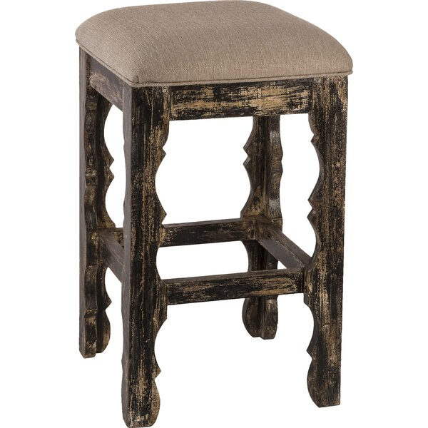 Muhammed 24 Bar Stool by Bungalow Rose