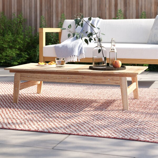 Annalese Outdoor Teak Coffee Table by Foundstone Foundstone