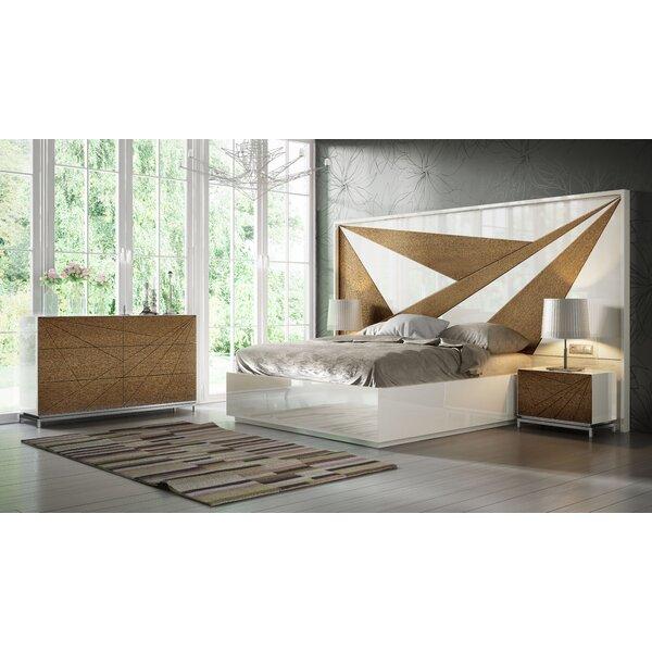 Helotes King Platform 4 Piece Bedroom Set by Orren Ellis Orren Ellis