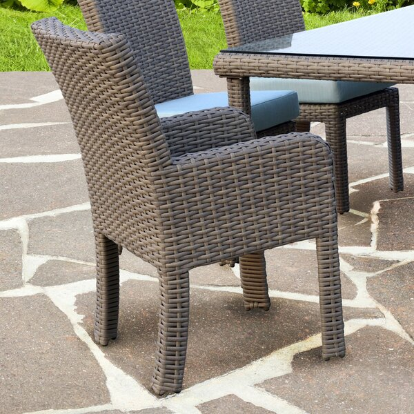 Spicewood Patio Dining Chair with Cushion by Bay Isle Home