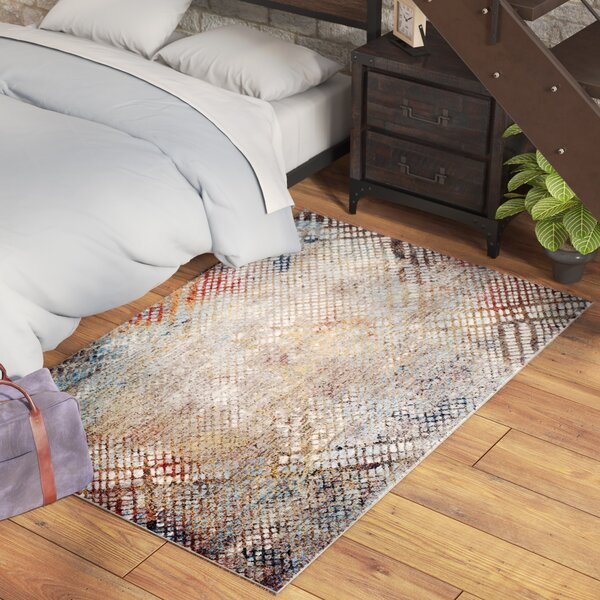 Foresta Grey/Gold Area Rug by Trent Austin Design