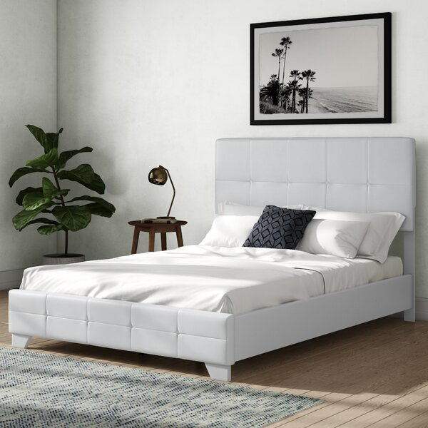 Burkey Upholstered Standard Bed By Winston Porter