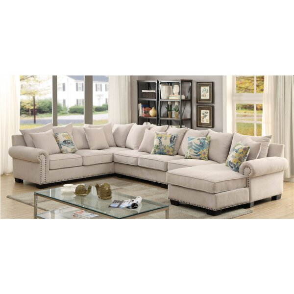 Diann Ceramics Sectional by Canora Grey