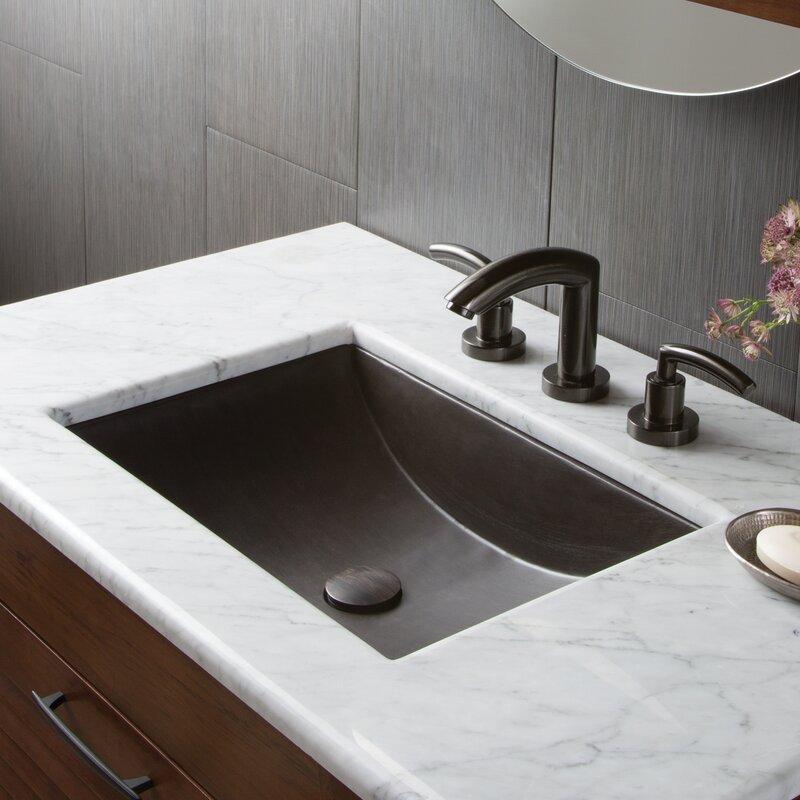Stone Rectangular Undermount Bathroom