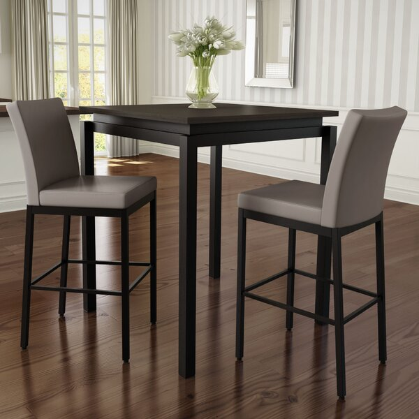 Huizenga 3 Piece Counter Height Pub Table Set by Brayden Studio