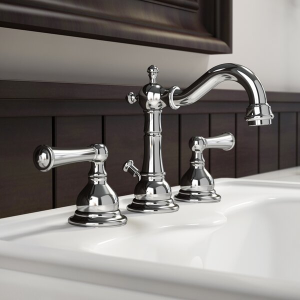 Barrea Lavatory Widespread Bathroom Faucet with Drain Assembly by Jacuzzi®