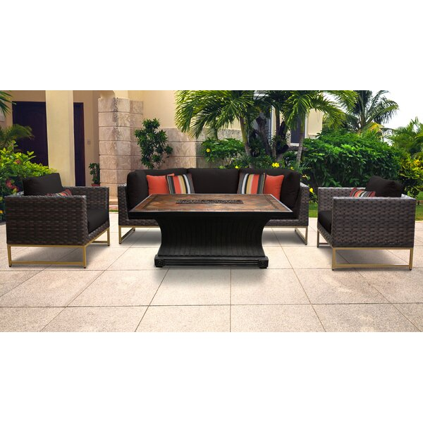 Mcclurg 6 Piece Sectional Seating Group with Cushions by Darby Home Co Darby Home Co