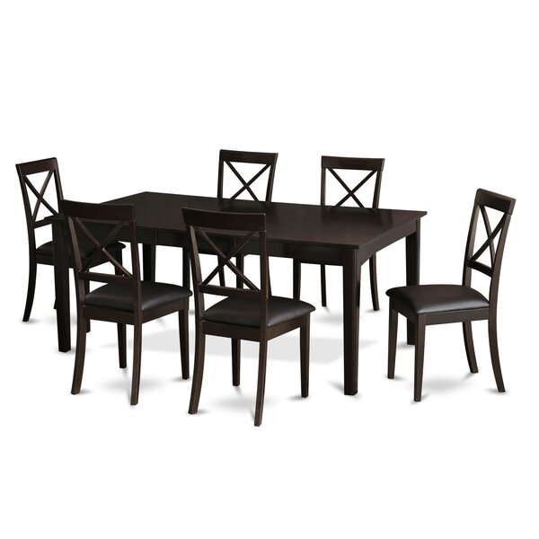 Forada 7 Piece Dining Set by Red Barrel Studio