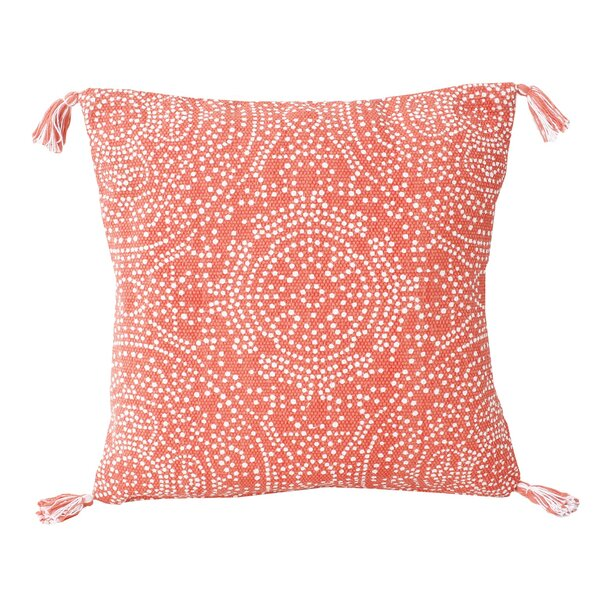 Cherree Reversible Dot Cotton Throw Pillow by Bungalow Rose
