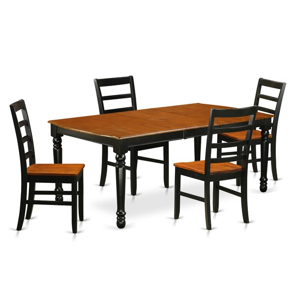 Pimentel Solid Wood Dining Set by August Grove August Grove