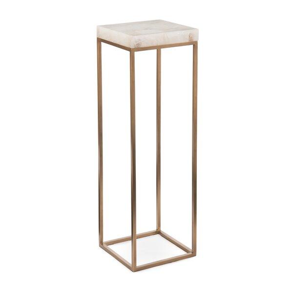 Calcite Pedestal Plant Stand by John-Richard