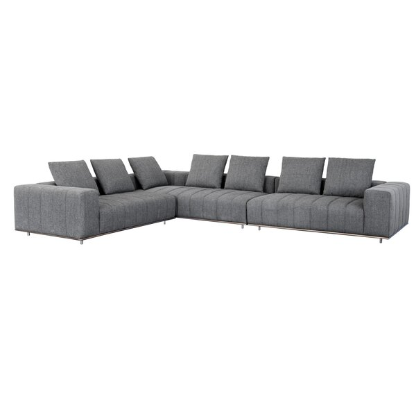 Club Flora Sectional by Sunpan Modern