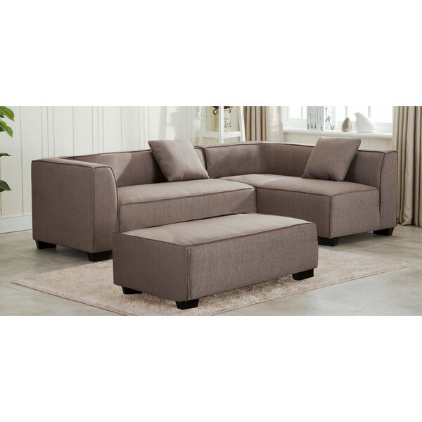 Silas Reversible Sectional With Ottoman By Latitude Run