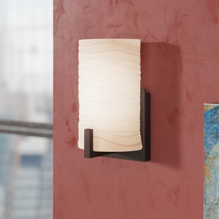 Searching for Festa 1-Light LED Armed Sconce By Bloomsbury Market