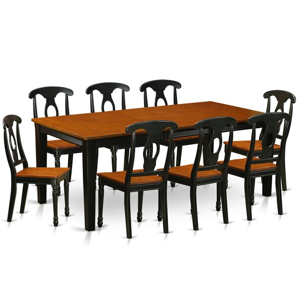Pilger Modern 9 Piece Dining Set by August Grove