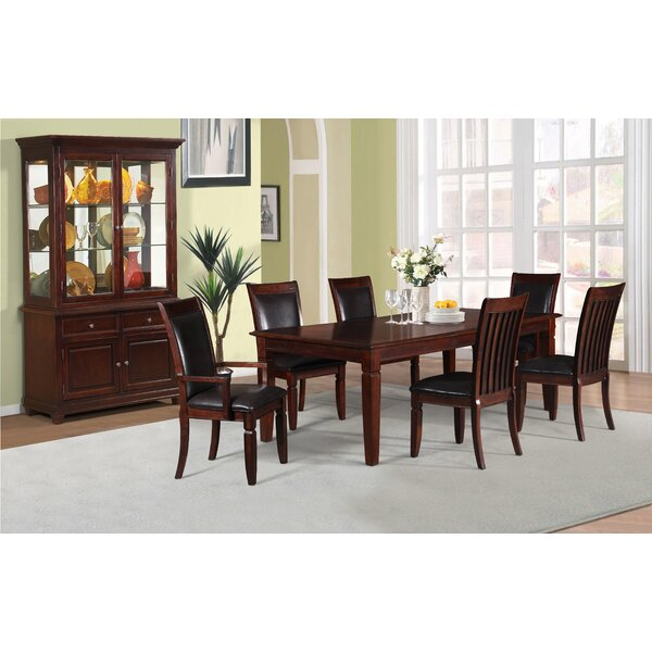 Dunlevy Extendable Solid Wood Dining Table by Darby Home Co