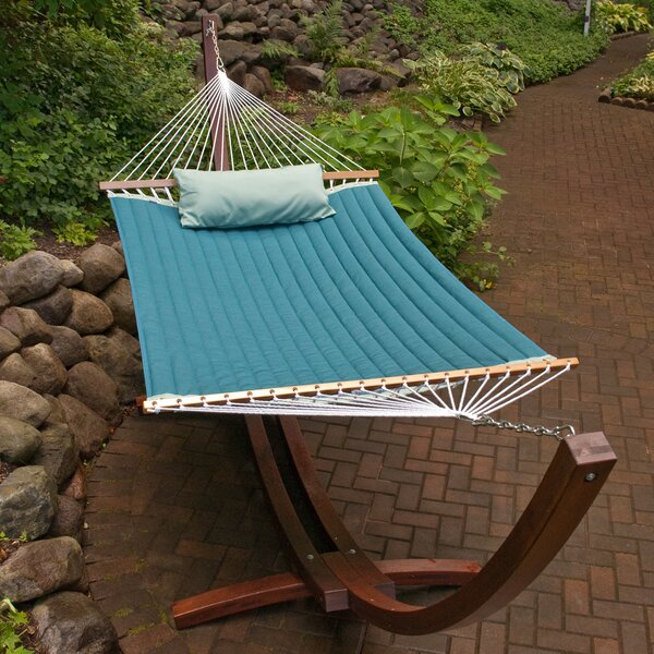 Cardona Sunbrella Double Tree Hammock by Red Barrel Studio