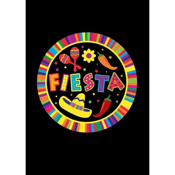 Fiesta Pin Garden flag by Toland Home Garden