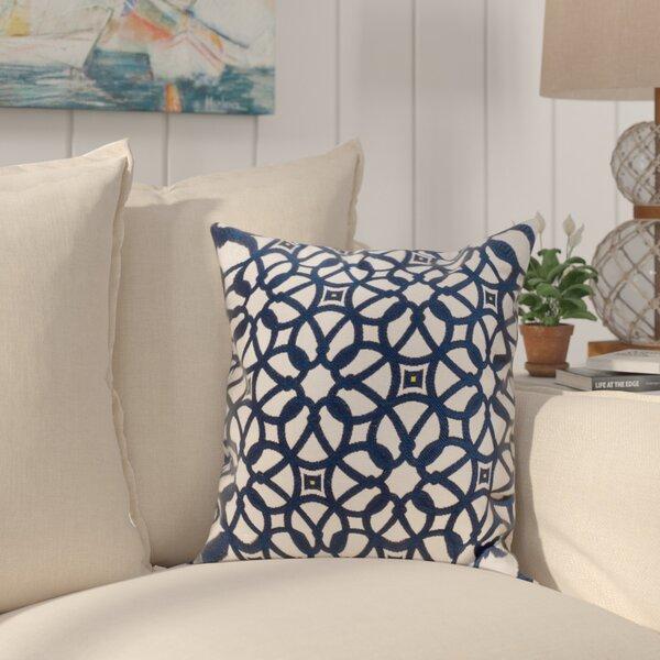 Edisto Canvas Sunbrella Throw Pillow by Breakwater Bay