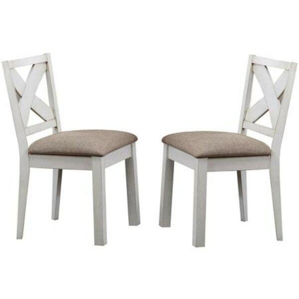 Rademacher Solid Wood Dining Chair (Set of 2) by Breakwater Bay