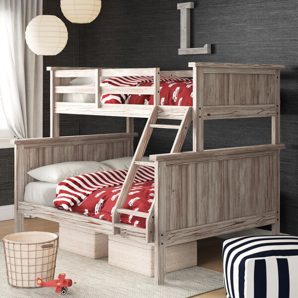 Dominey Twin Over Full Bunk Bed By Birch Lane™ Heritage by Birch Lane™ Heritage Today Only Sale